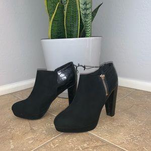 NWT Women's Black Booties